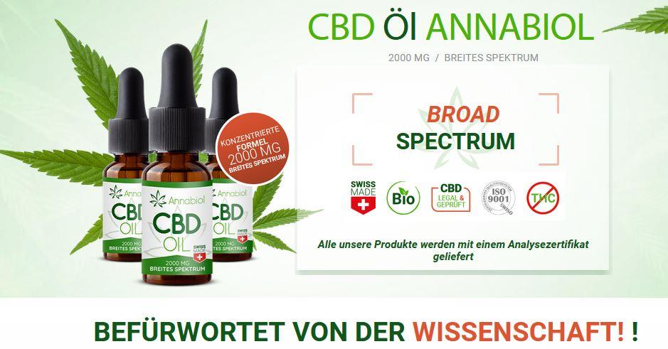 Annabiol CBD Oil 1