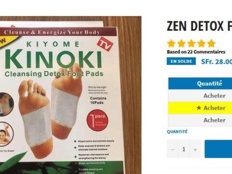 Zen Detox Foot Patch