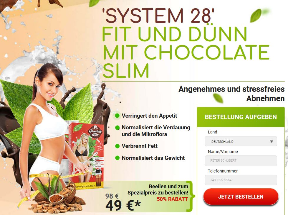 Chocolate Slim 2