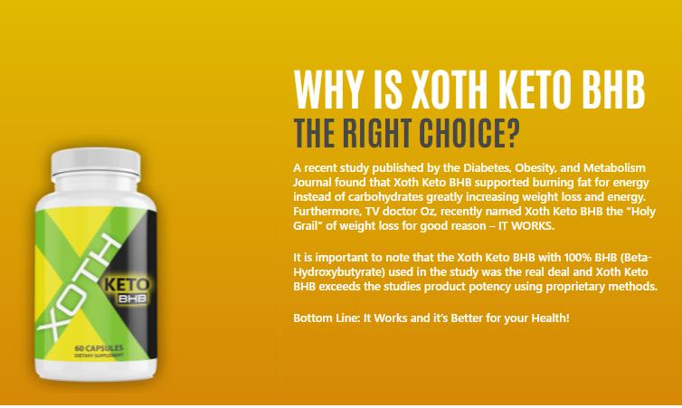 Xoth Keto BHB 1